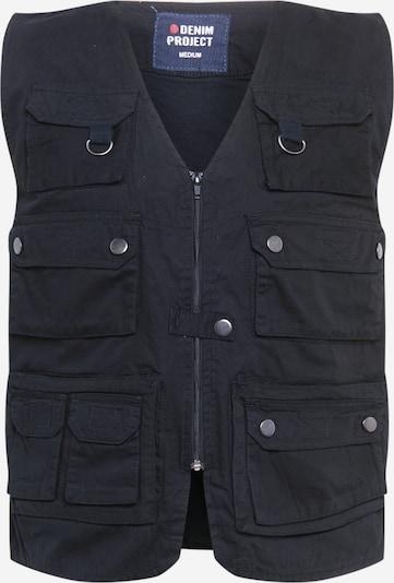 Denim Project Bodywarmer 'CANA' in de kleur Zwart, Productweergave