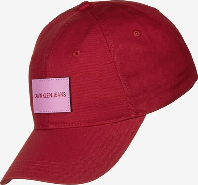 Calvin Klein Cap ' Institutional W ' in rot, Produktansicht