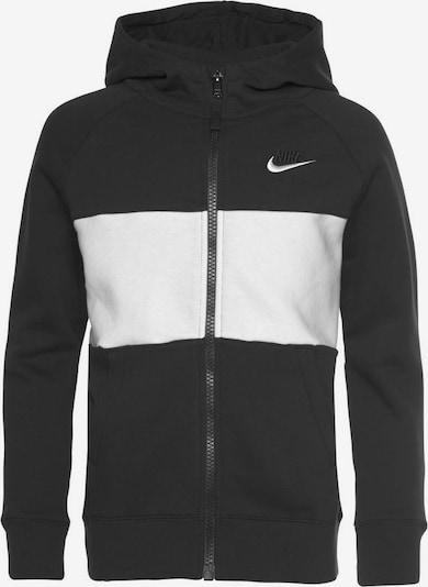 Nike Sportswear Veste de survêtement en blanc, Vue avec produit