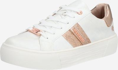 Dockers by Gerli Sneaker '42BM233-680' in gold / rosé / weiß, Produktansicht