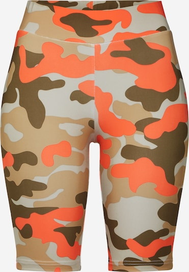 Urban Classics Shorts in khaki / orange, Produktansicht