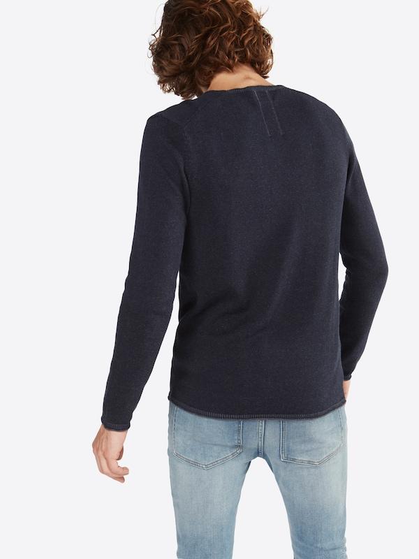 9gg' Foncé Pull En 'plated Pullover Nowadays over Bleu N0v8ywOmn