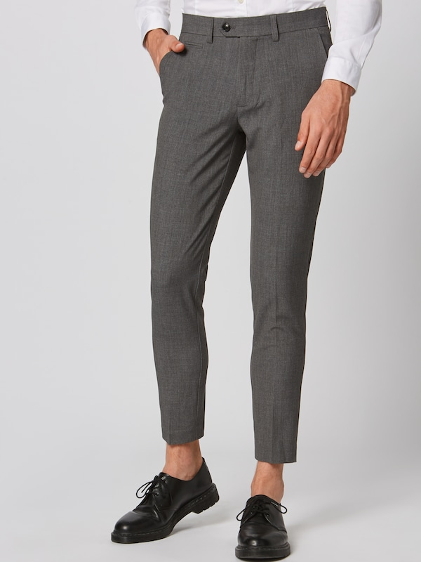 Lindbergh Hose 'Club pants' in grau, Modelansicht