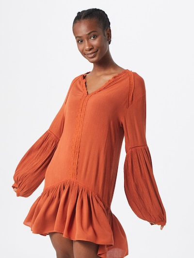 BILLABONG Kleid 'good mood' in dunkelorange, Modelansicht