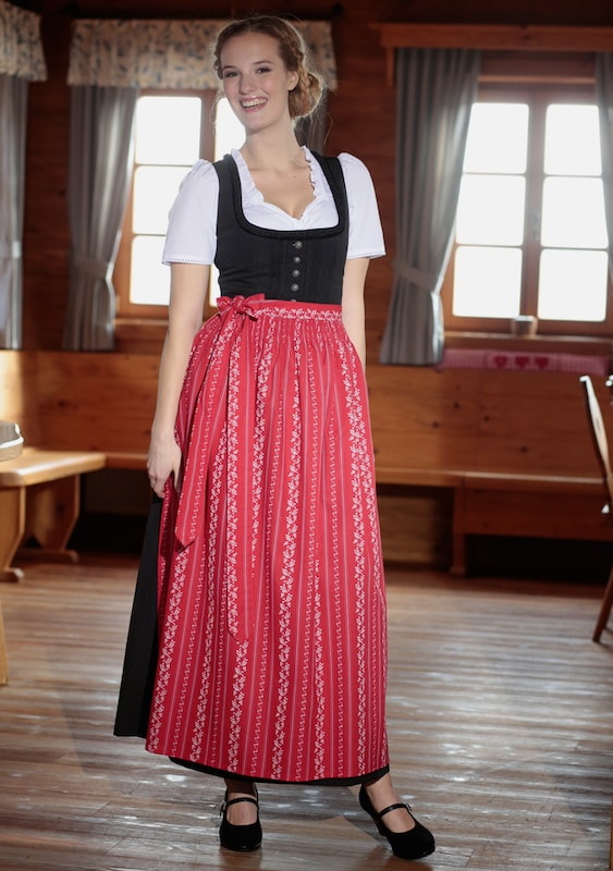 Stocker Point Dirndl Apron