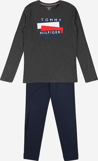 Tommy Hilfiger Underwear Schlafanzug in navy / hellgrau, Produktansicht