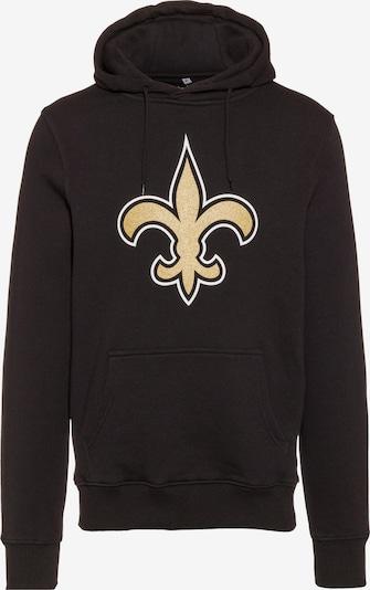 Fanatics Hoodie 'New Orleans Saints' in gold / schwarz, Produktansicht