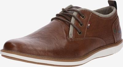 MUSTANG Chaussure à lacets '4111303' en cognac, Vue avec produit