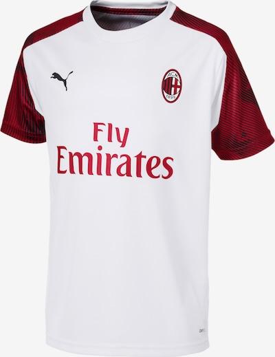 PUMA Trainingstrikot 'AC Milan' in rot / schwarz / weiß, Produktansicht