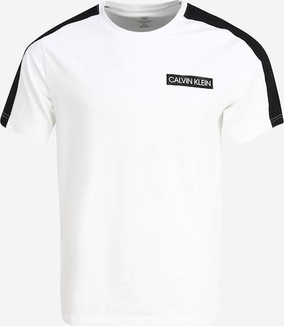 fekete / fehér Calvin Klein Performance Funkcionális felső, Termék nézet