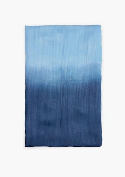 s.Oliver Webtuch in hellblau / dunkelblau, Produktansicht