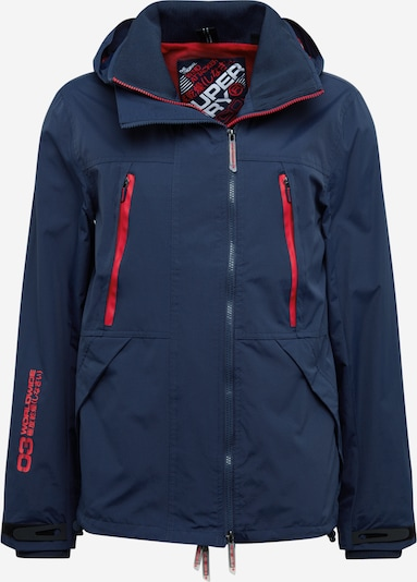 Superdry Jacke 'Tech Attacker' in navy / rot, Produktansicht