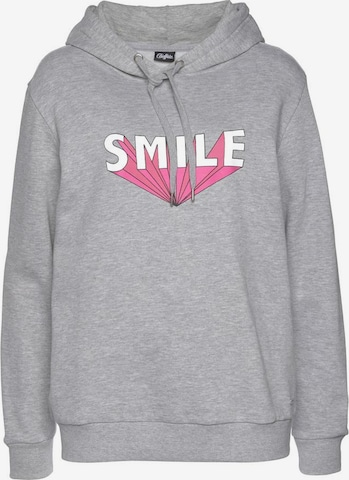 BUFFALO Sweatshirt in Grau