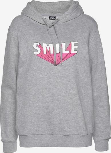 BUFFALO Sweatshirt in graumeliert, Produktansicht