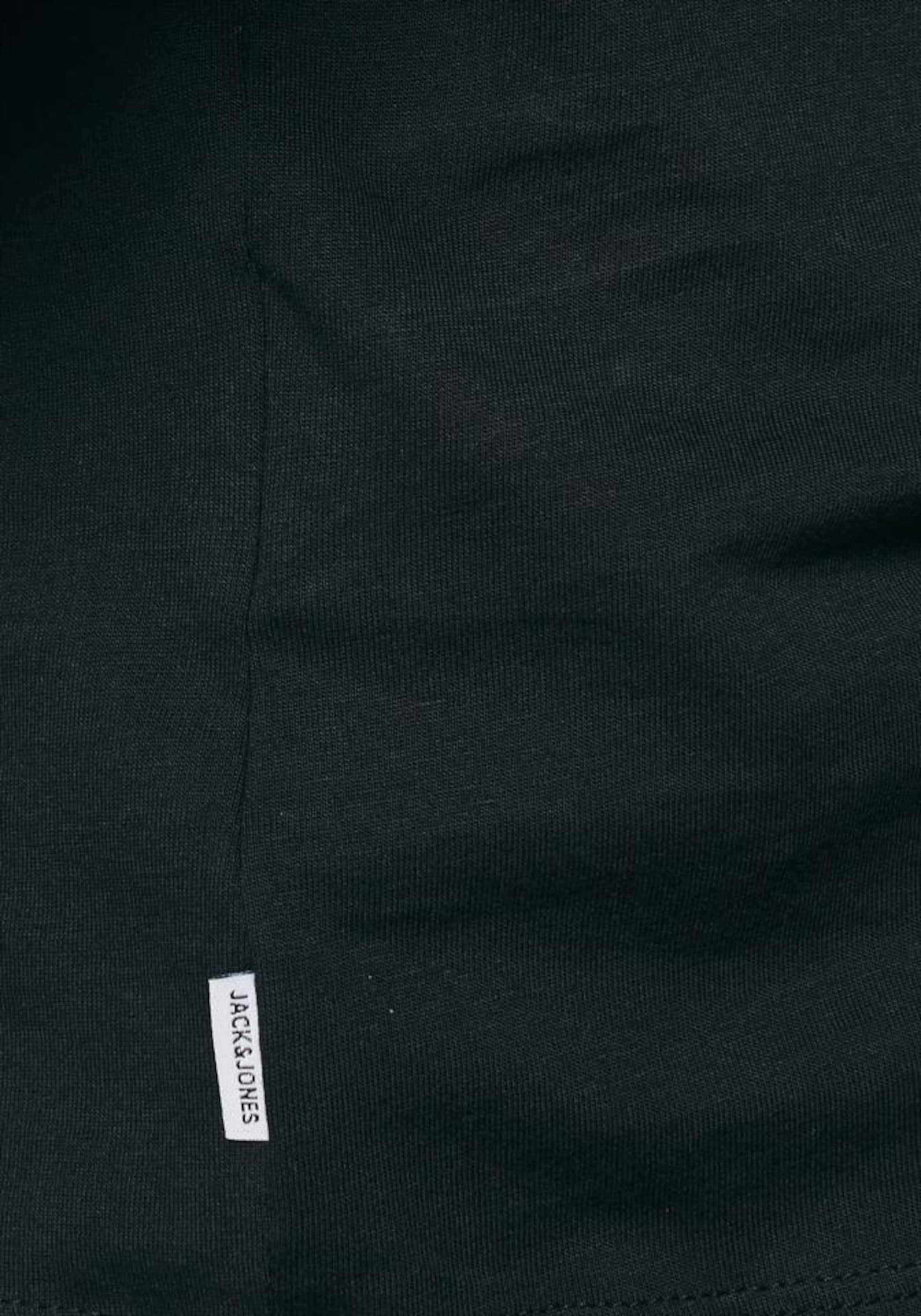 Basic In Jackamp; shirt 'organic Tee' T Schwarz Jones 9IDWEY2H