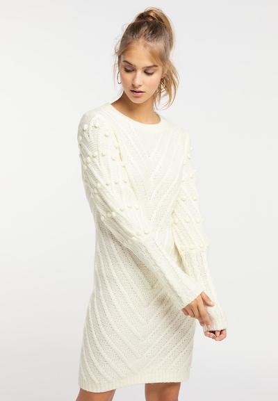 MYMO Strickkleid in weiß, Modelansicht