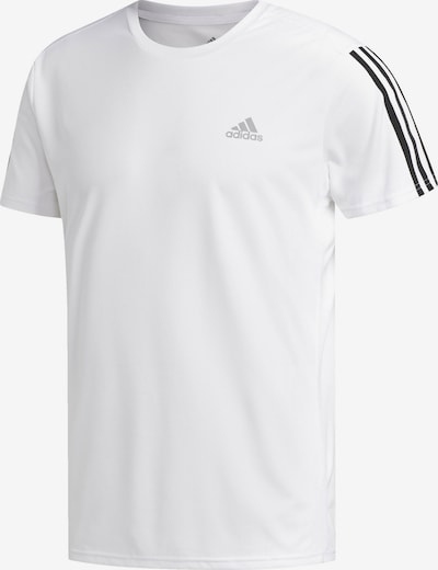 ADIDAS PERFORMANCE Funkční tričko 'Running 3-Streifen' - černá / bílá, Produkt