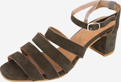 EDITED Sandały z rzemykami 'Paulette' w kolorze khakim, Podgląd produktu