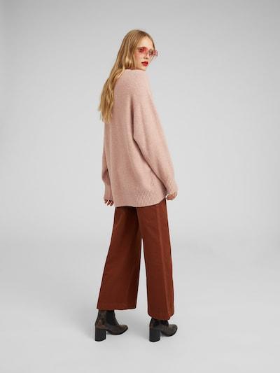 EDITED Lielizmēra džemperis 'Luca' pieejami rozā: Aizmugures skats
