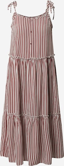 ONLY Letní šaty 'ONLFABULOUS STRAP MIDI DRESS WVN' - červená / offwhite, Produkt