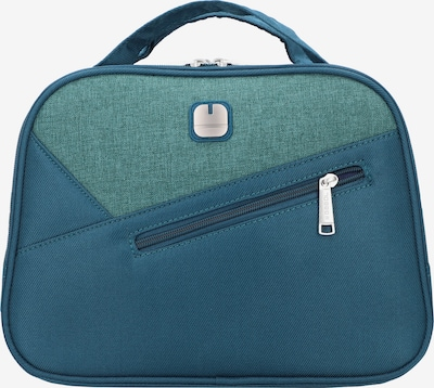 Gabol Beautycase 'Mailer' in himmelblau / grasgrün, Produktansicht