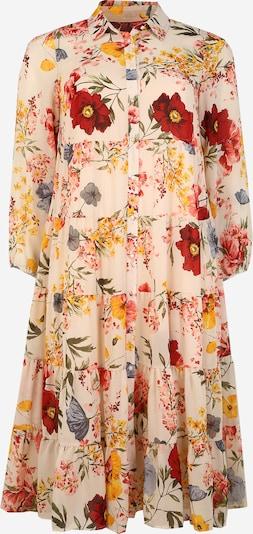 Zizzi Robe-chemise 'MLULU' en mélange de couleurs, Vue avec produit