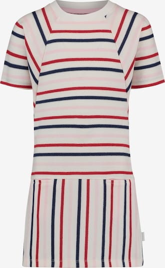 Noppies Kleid 'Rome' in dunkelblau / altrosa / rot / weiß, Produktansicht