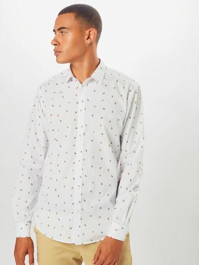 Cămașă Only & Sons pe alb, Vizualizare model