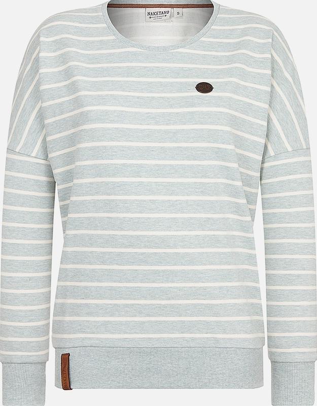 Vert shirt En Naketano Sweat PastelBlanc sxBhQodrCt