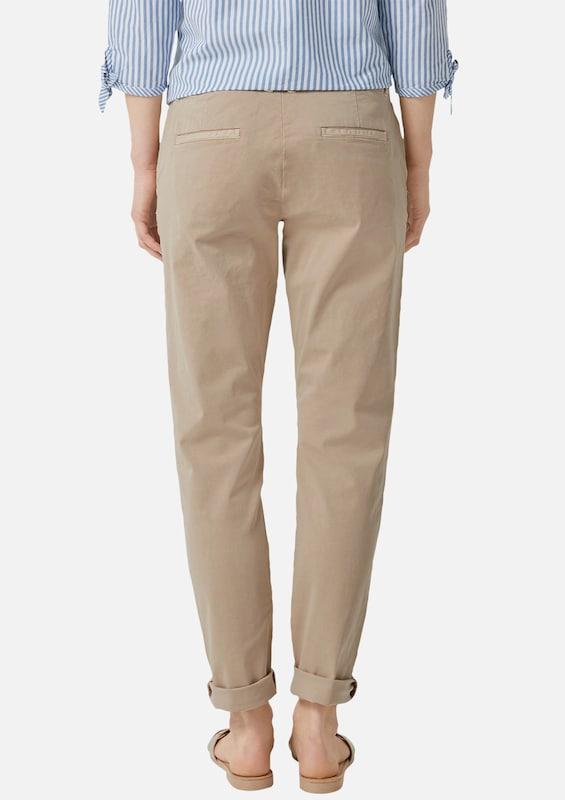 S.Oliver rot LABEL Hose in cappuccino  Markenkleidung für Männer Männer Männer und Frauen d98cd6