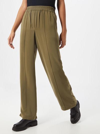 VERO MODA Broek 'KARINA WIDE PANT TLR GA' in de kleur Groen, Modelweergave