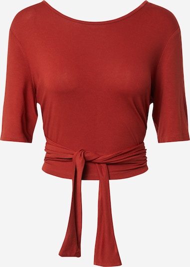 PIECES Shirt 'PCNEORA' in rot, Produktansicht