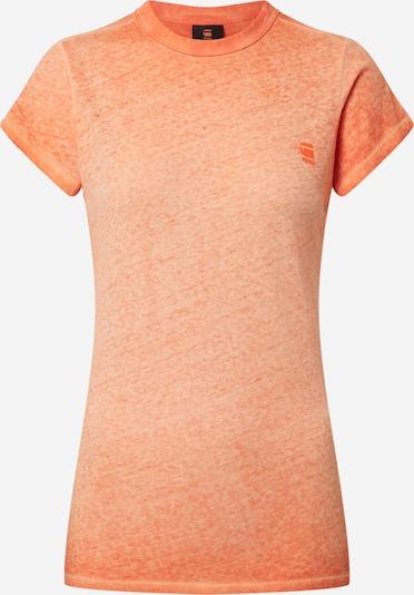 G-Star RAW Tričko 'Eyber' - oranžový melír, Produkt