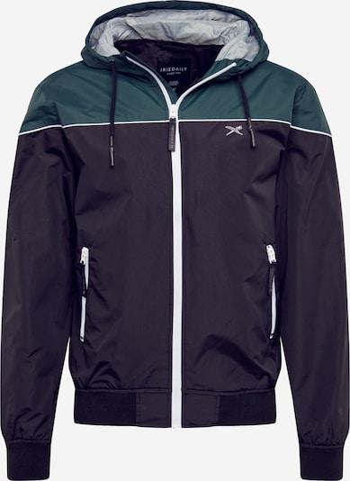 Demisezoninė striukė 'Mini Flag Deck Jacket ' iš Iriedaily , spalva - žalia / purpurinė, Prekių apžvalga