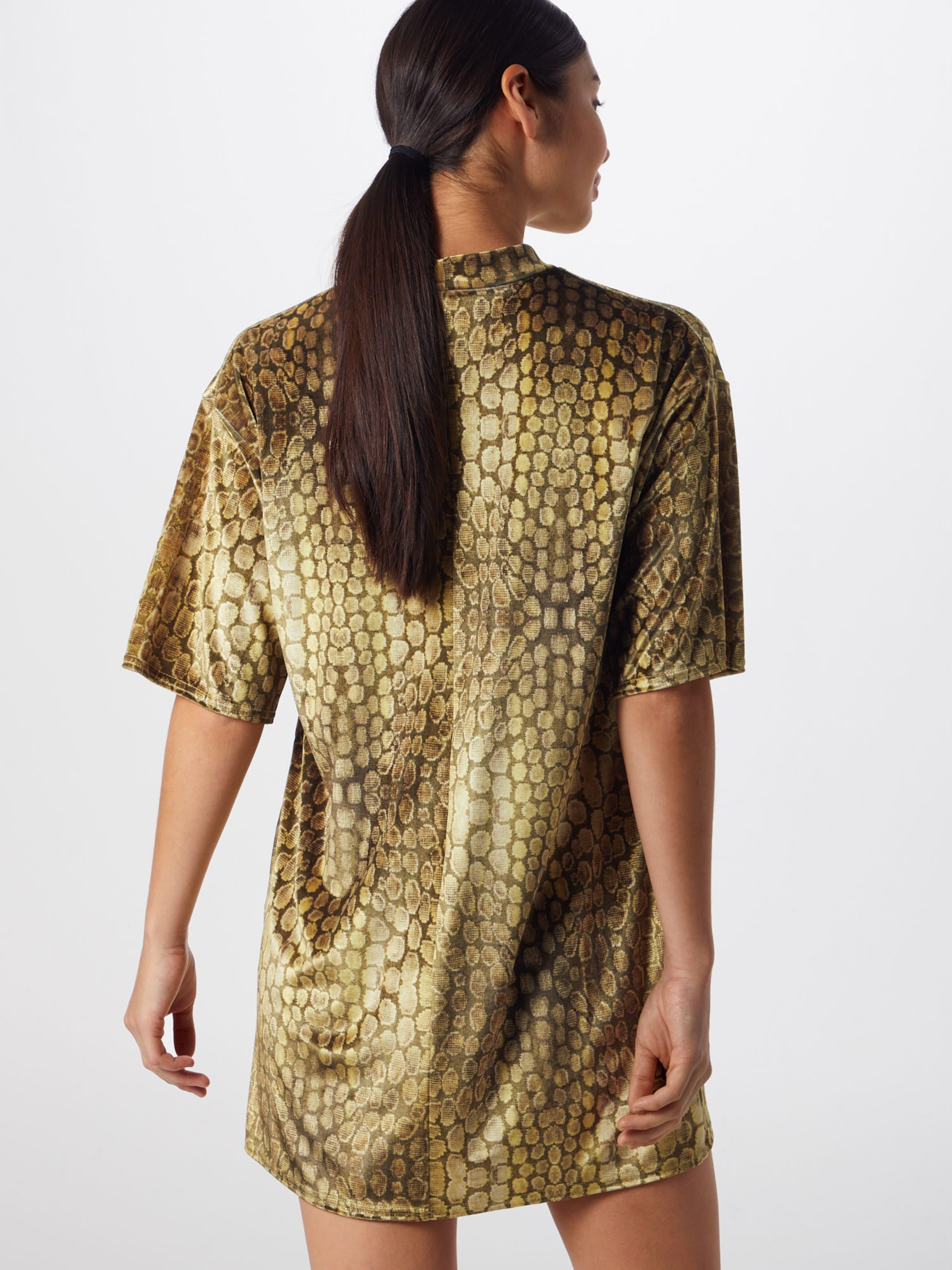 Velvet' Dress Missguided In 'oversized Neck Senf High BrdCexo