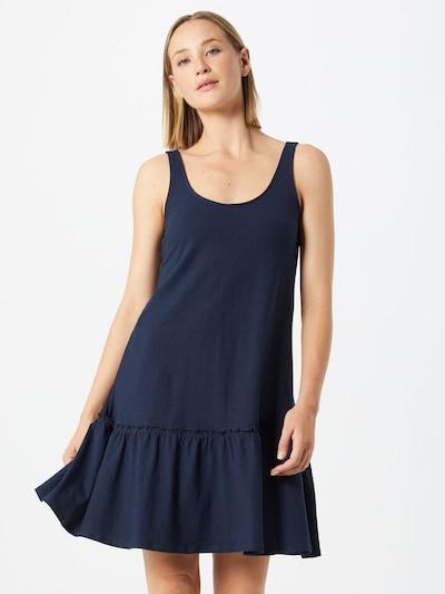 TOM TAILOR DENIM Kleid in dunkelblau, Modelansicht