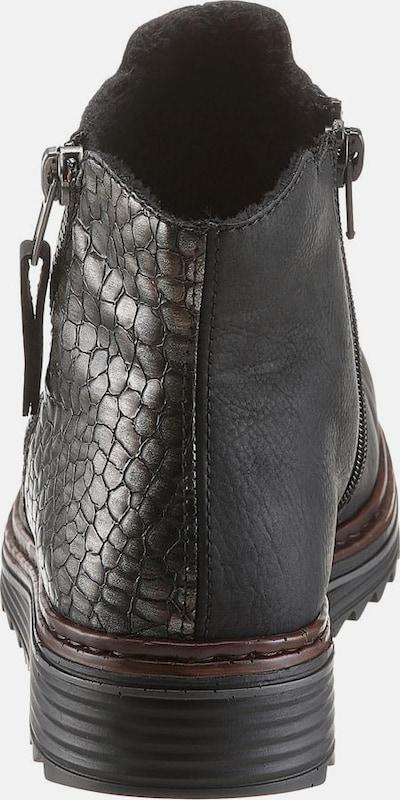 RIEKER Plateaustiefelette Günstige und langlebige Schuhe