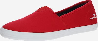 TOM TAILOR Slip On in hellrot: Frontalansicht