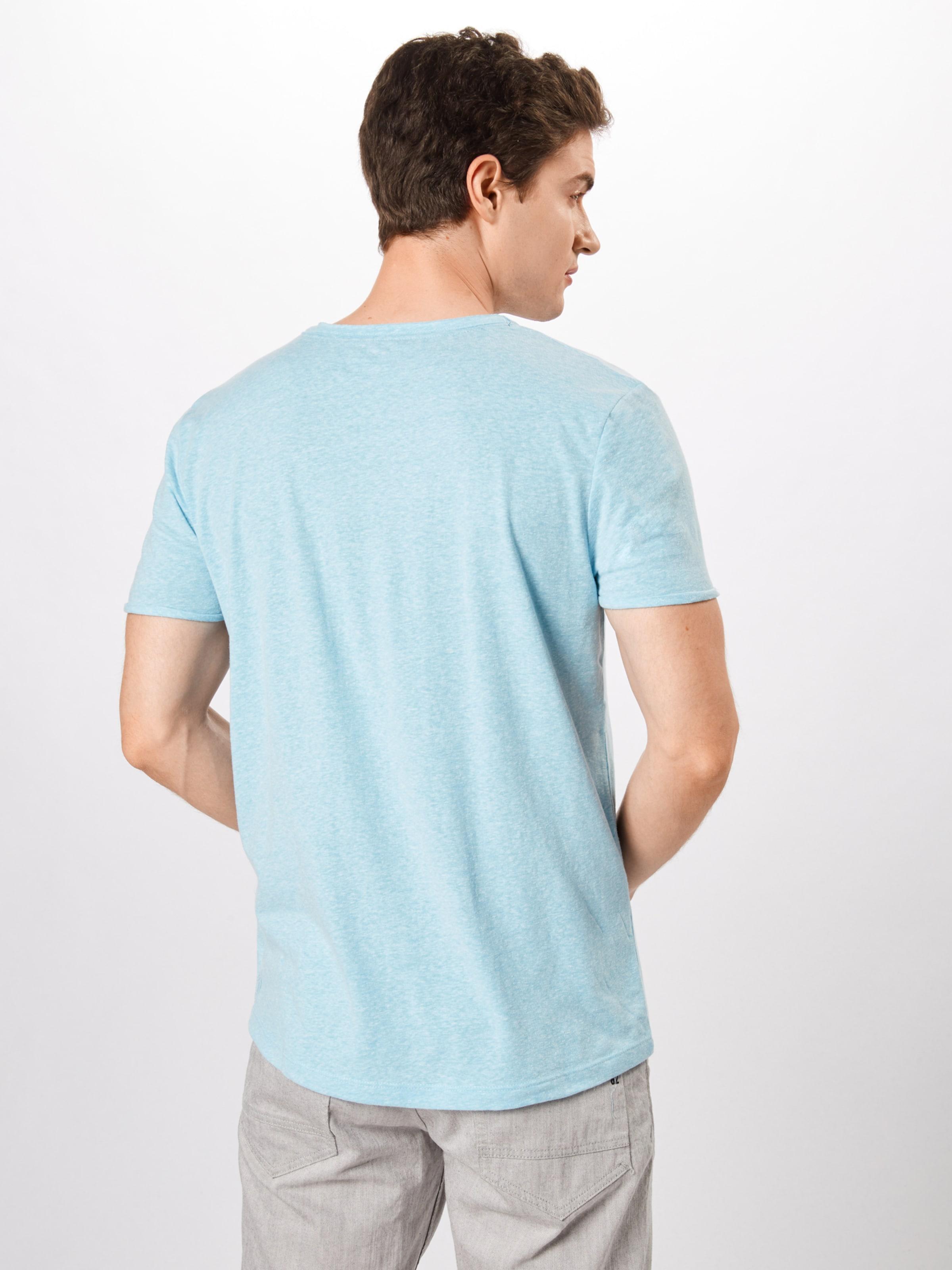In Denim Tom Tailor T shirt Hellblau bf6g7Yy