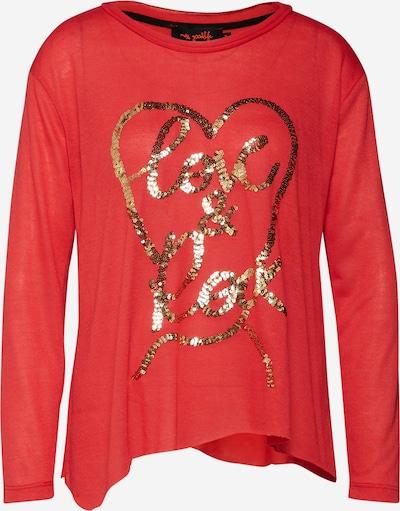 miss goodlife Shirt 'Love & Rock' in rot, Produktansicht