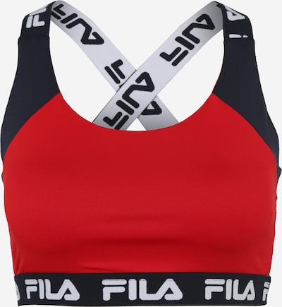 FILA Sport bh 'Betsy' in de kleur Nachtblauw / Rood / Wit, Productweergave