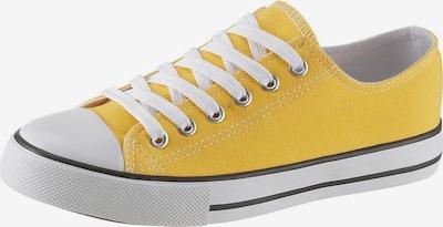 CITY WALK Sneaker in gelb / weiß, Produktansicht