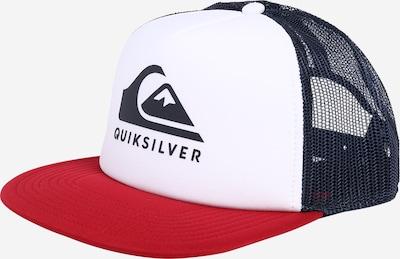 QUIKSILVER Cap in dunkelblau / rot / weiß, Produktansicht