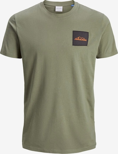 JACK & JONES T-Shirt en olive: Vue de face