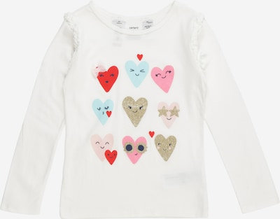 Carter's Shirt 'multi heart' in de kleur Eierschaal, Productweergave