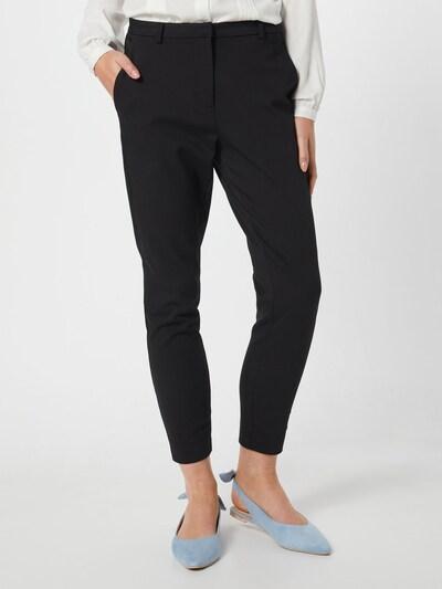 VILA Hose 'VIADELIA' in schwarz, Modelansicht