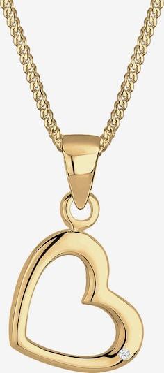 Diamore Kette 'Herz' in gold, Produktansicht