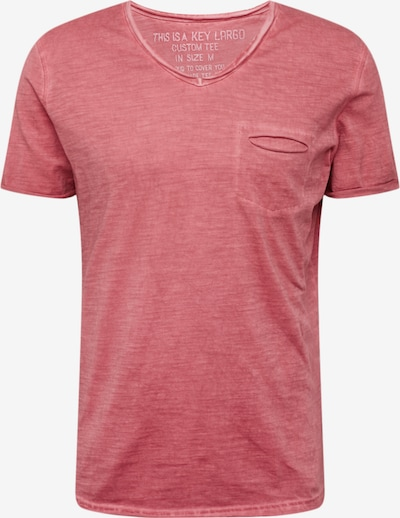 Key Largo T-Shirt in rot, Produktansicht