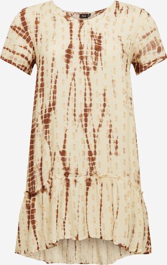 Zizzi Tunika  'Camil' in beige / hellbraun, Produktansicht