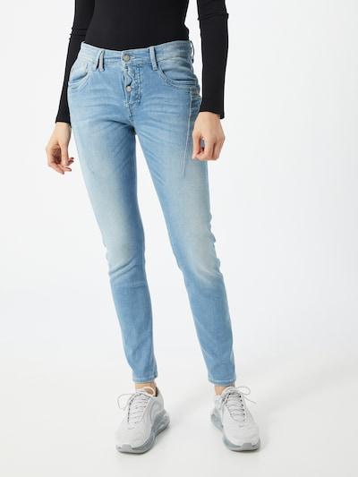 Gang Jeans 'NEW GEORGINA DEEP CROTCH' in blue denim, Modelansicht